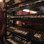 Impressive wine rack