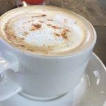 Coffee bar at the resort