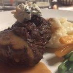Lotus Leaf-great beef filet with gorgonzola
