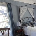Harbour room, also has access to private deck