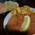 Our amazing schnitzel!