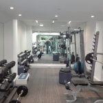 GYM full equiped with air conditioner and smart tv