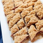 Berry oat bar bites