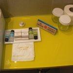 The toiletries