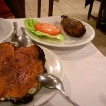Pamplona y batata caramelizada