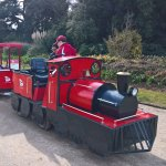 Little Red Train - Garden Tour