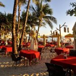 Foto de Red Coconut Beach Restaurant