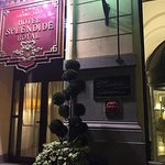 Lovely service. Piano singer exquisite. Sommelier knowledgeable highly attentive. They made a po