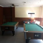 games room ,pool tables need upgrade