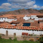 View of Cusco rooftops