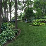 These private gardens are thrown open once a year for the public to enjoy.