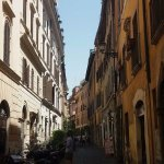 Characterful street, nice and shady in the afternoon.