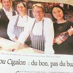 Photo of Lou Cigalon-Maison Martin