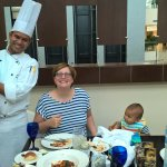 A Chef Who Is There To Serve Customer Needs