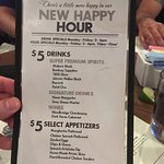 Champps Crystal City Happy Hour Menu.