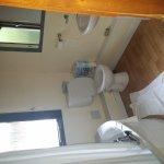 Bathroom in hut