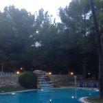 Einer der Pools