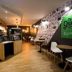 L'intérieur cosy de votre Coffee shop !