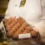We are celebrating over 20 years of making chocolates. Come celebrate with us!