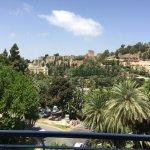 View of the Alcazaba from Balcony