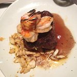 Filet with Lump Crab and Shrimp