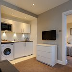 A 'Studio Plus' includes small kitchen & lounge. Perfect for self catering on a budget!