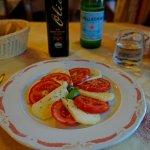 Pecorino cheese & tomato (pomodori) starter/apetizer