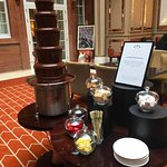 The amazing Chocolate Fountain!