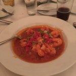 Shrimp & grits a la Hank's