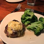 smallest filet with crab