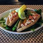 Lobster sliders appetizer July 2017