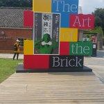 lego/bricks exhibit