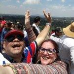 piramide do sol teotihuacan superação