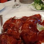 Peking duck with steamed buns