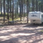 Big Pine Campground = site #38