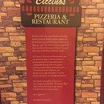 Foto de Ciccino's Pizzeria & Restaurant