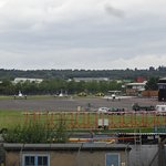 View of Farnborough Airfield from FAST Museum