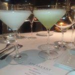fruit apple martini and the coconut martini