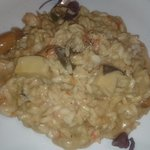 mellow mushroom and prawns rice