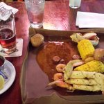 Cajun Boil at Steamworks Brewery