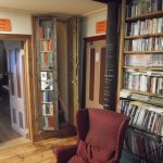 A hidden room behind a bookcase called their 'Narnia Room'