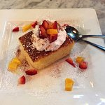 The Tres Leches looked fabulous, but the cake was pasteboard dry. Very disappointing.