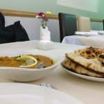 Lamb Dhansak and Peshwari Naans