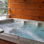 Congo Suite - hot tub on the balcony!!!