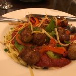 Linguini with Peppers & Sausage