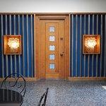Doors in foyer