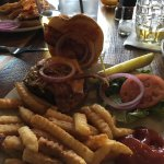The Tavern Burger with French Fries