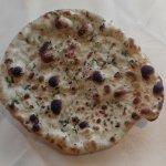 Perfectly baked garlic Naan bread