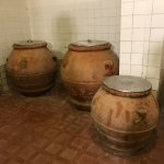 vats of olive oil