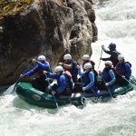 Our family riding the rapids!